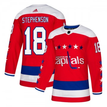 Authentic Adidas Men's Chandler Stephenson Washington Capitals Alternate Jersey - Red