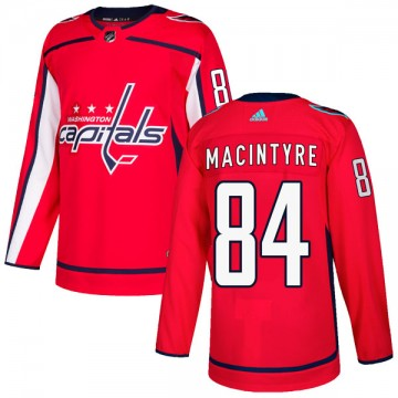 Authentic Adidas Youth Drew MacIntyre Washington Capitals Home Jersey - Red